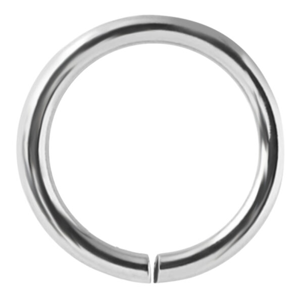 continuous ring helix ear lips nostril septum piercing ring